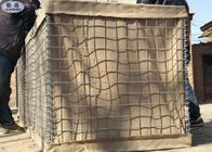 Military Hesco Bastion Sand Filled Barriers Retaining Wall For Protection