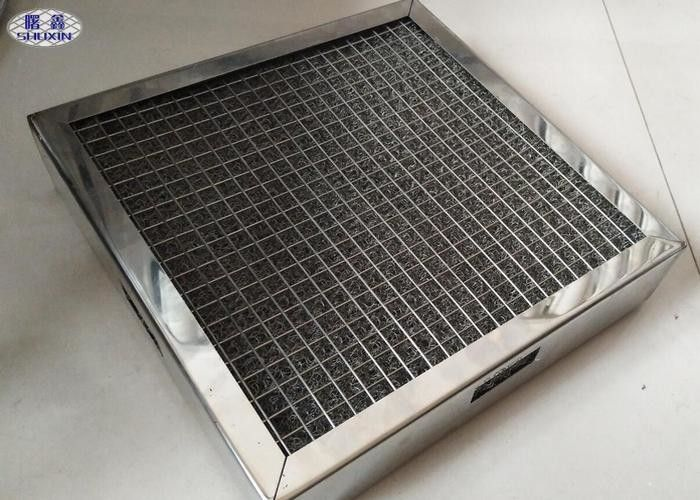 Aluminium Air Dust Filter Anti - Corrosion Mesh With Customized Size